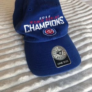 Other - Cubs World Series Hat 💛